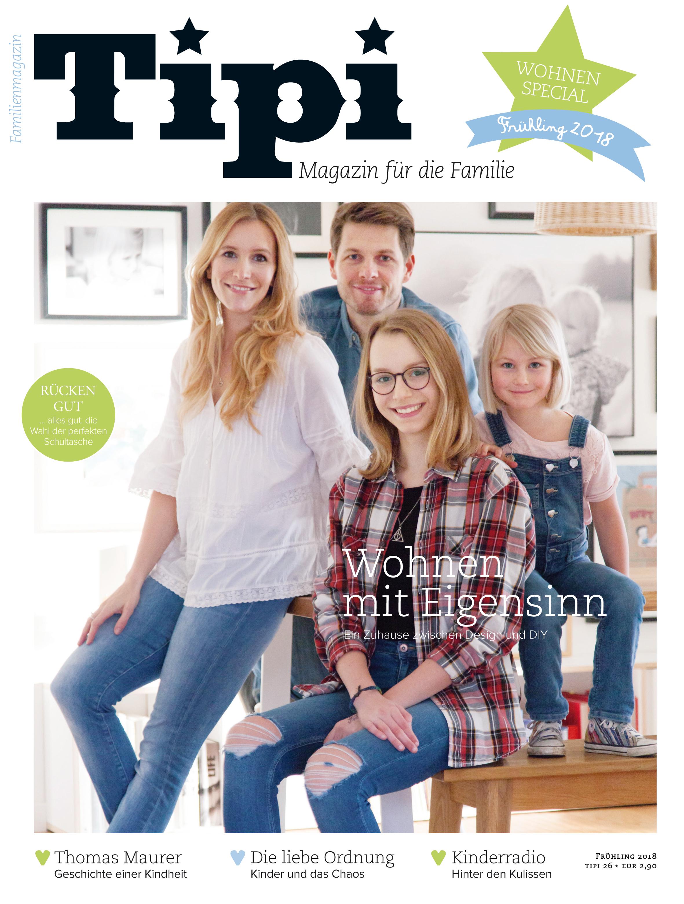 Tipi, das moderne Familienmagazin